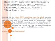 7seas Education - IELTS Coaching Center in Ahmedabad