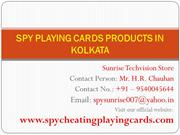 Know the Number of Rival Card with Spy Playing Cards in Kolkata