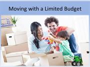 Moving with a limited budget