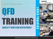 QFD Training  Quality Function Deployment Training