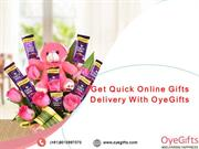 OyeGifts Provide Online Gifts Delivery Across India
