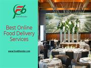 Home Food Delivery Services