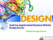 Avail Los Angeles Small Business Website Design Service