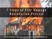 7 Steps of Fire Damage Restoration Process at Moreno Valley CA