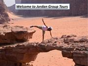 Welcome to Jordan Group Tours