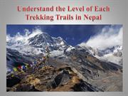 Understand the Level of Each Trekking Trails in Nepal