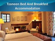 Tzaneen Guest House - Tzaneen Bed And Breakfast Accommodation