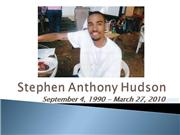 Stephen Anthony Hudson