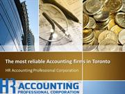 Accounting Firm in toronto