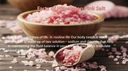 Facts of Himalayan Pink Salt