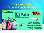 Scope and Career Opportunities in Robotics