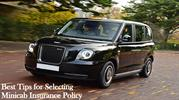 Best Tips for Selecting Minicab Insurance Policy