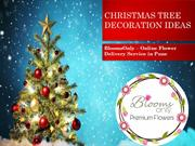 BloomsOnly - Christmas Tree Decoration Ideas