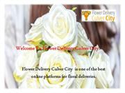 Find the Best and top Flower Delivery – Culver City