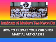How to Become a Perfect Student of Tae Kwon Do