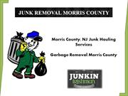 Morris County Eco-Friendly Junk and Garbage Removal Services