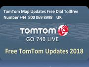 Tomtom Maps Updates Free Dial Tollfree Number +44 800 069 8998 UK