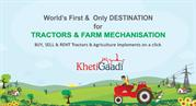 Buy,  sell and rent tractor and agriculture equipment