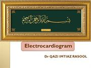 PPT E.C.G BY DR. QAZI