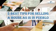 Selling a House As Is In Pueblo, CO