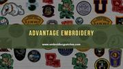 Custom Printed Patches By Advantage Embroidery