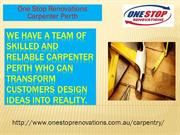One Stop Renovations-Carpenter perth