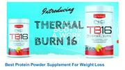 Protein Powder For Weight Loss - Nutra TB16 Thermal Burn