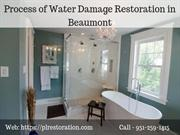 6 Steps Process of Water Damage Restoration in Beaumont CA