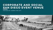 Corporate and Social San Diego Event Venue
