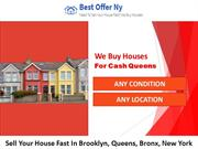 We Buy Houses For Cash Queens