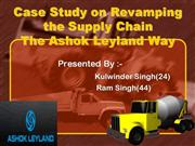 ashok leyland revisedsupply chain