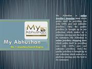 Get Discounts on Gold and Diamond Jewellery from My Abhushan