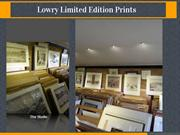 Lowry limited edition prints at cornwater fine art gallery