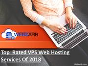 Top Rated VPS Web Hosting Services of 2018