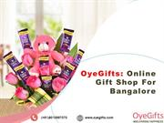 OyeGifts Online Gift Shop For Bangalore