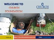 Church Foundation Repair - Best Foundation Repair Services Provider
