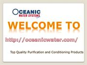 Hydroponics Reverse Osmosis Water Filter|Oceanic Water Systems