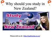 Why should you study in New Zealand