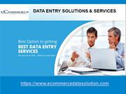Data Entry Services Provider Company In India
