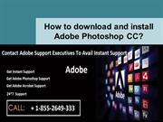 How to download and install Adobe Photoshop CC