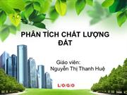 PHAN TICH CHAT LUONG DAT