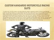 Custom Motorcycle suits for sidecar racing