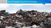 Why Car Scrappage is Good for the Environment
