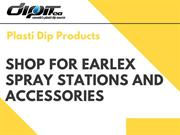 Shop for Earlex Spray Stations and Accessories | Plasti Dip Products