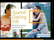 Speed Dating- Meet Your Perfect Life-Partner at Speed Dating HK