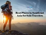 Best Places in Southeast Asia for Solo Travelers