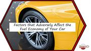 Factors that Adversely Affect the Fuel Economy of Your Car