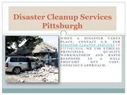Disaster Cleanup Services Pittsburgh