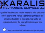 Installation Ductless Heat Pump for Your Room | Karalis Mechanical