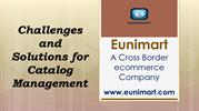 Challenges and Solutions for Catalog Management in Cross-border
